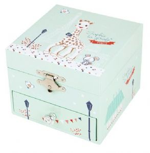Sophie la girafe 'Paris' Cube Music Box